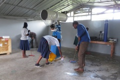 Cleaning the MMAO observatory