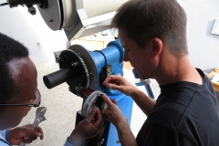 Working to reduce chatter in the RA gear box
