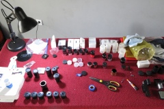 Testing, sorting eyepieces