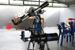 Rebuilding the portable telescopes