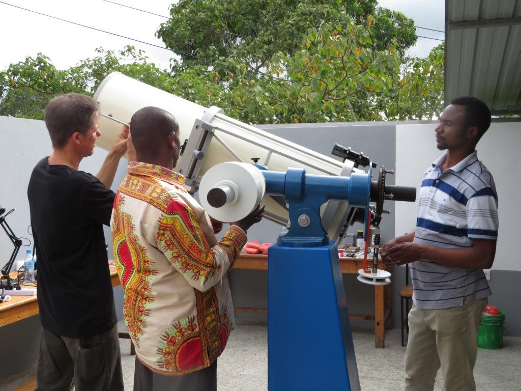 "MMAO - Balancing the 12"" Cave-Cassegrain telescope"