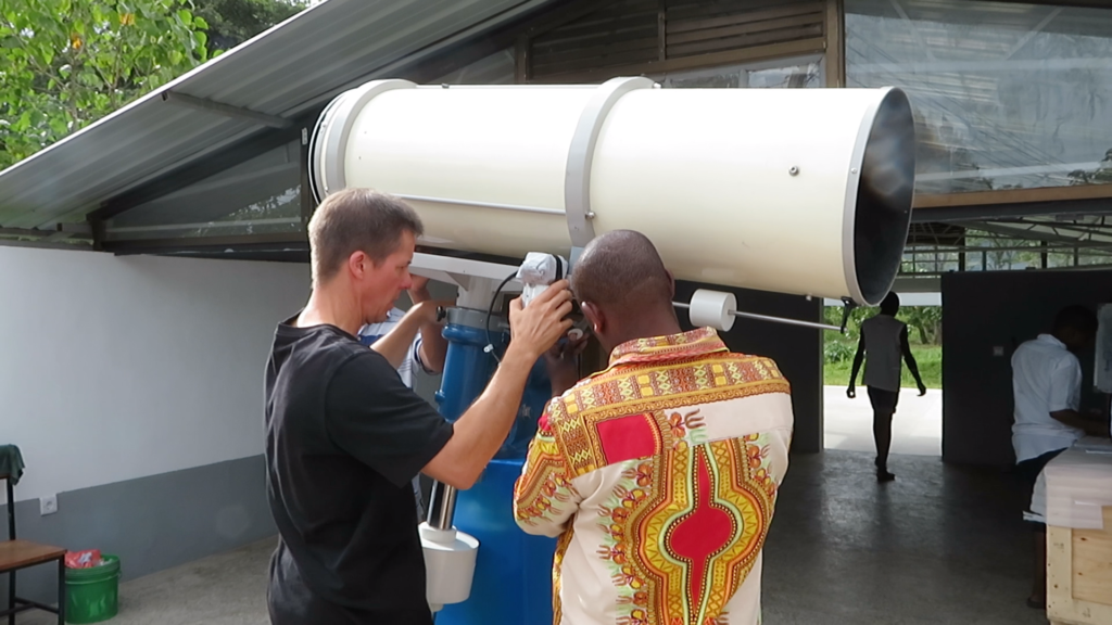 "MMAO - Re-balancing the 12"" Cave-Cassegrain telescope"