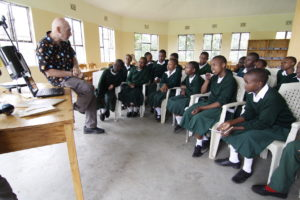 Chuck Ruehle, Telescopes to Tanzania, 2013