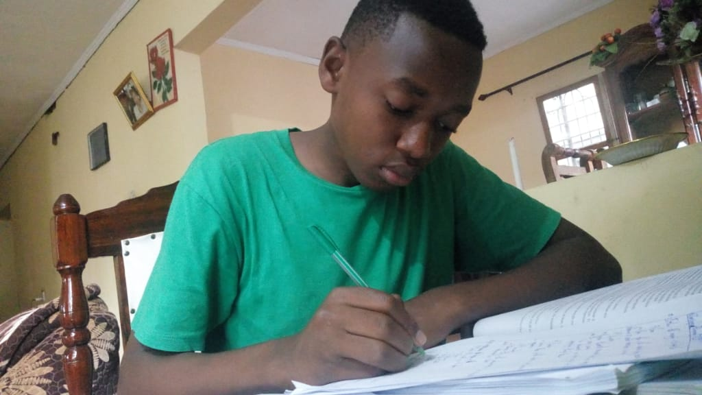 Student engaged in MMAO Distance Learning program