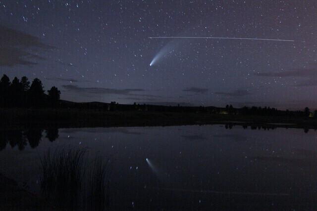 Comet Neowise by Padraig Houlahan