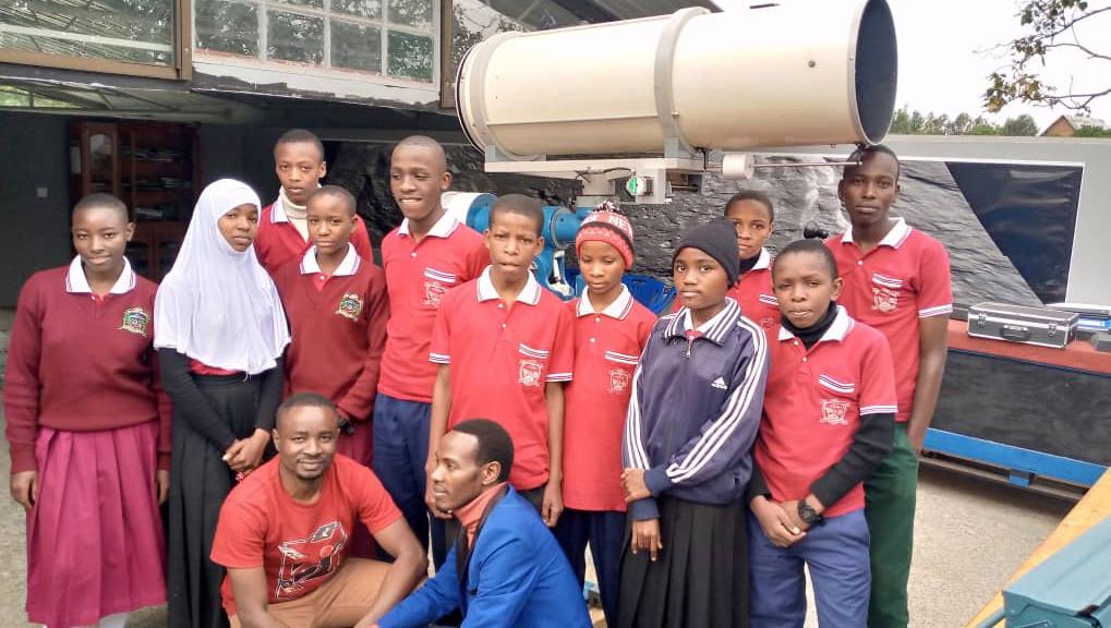 New Students visit MMAO